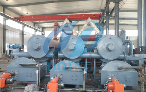 Doing continuous waste tire pyrolysis plant popular with customer at home and abroad