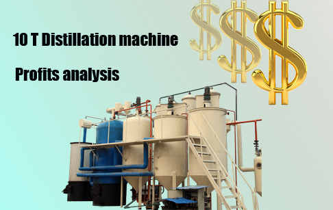 distillation machine profits analysis