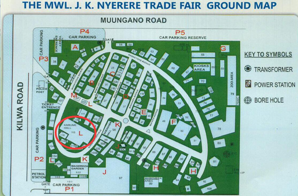 specific information of the trade fair