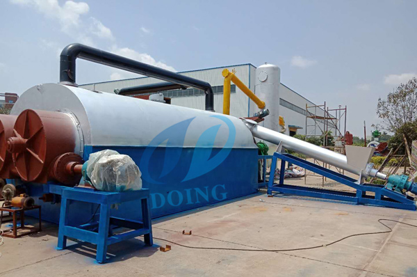 DOING continuous pyrolysis plant