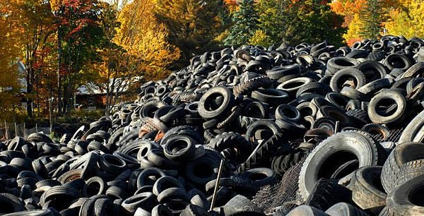 waste tyre solution