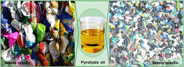 oil from plastic waste