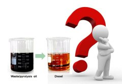 How to recycle used lubricating oil to diesel?