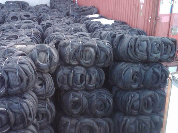 tyre to oil recycling plant