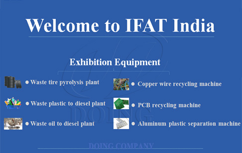 Welcome to the IFAT India. We will wait for you there.