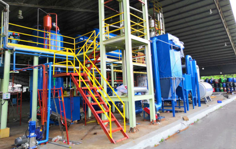 How to operate waste oil distillation plant?