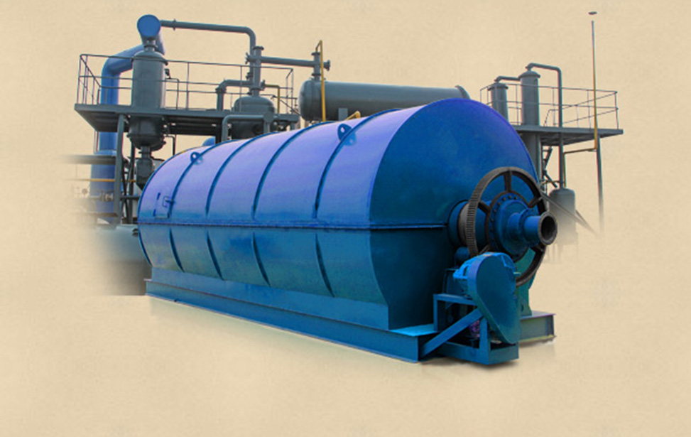 Small capacity used tyre pyrolysis equipment