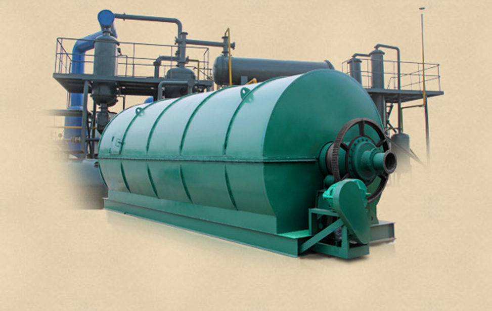 Waste scrap plastic to fuel oil recycling pyrolysis machine