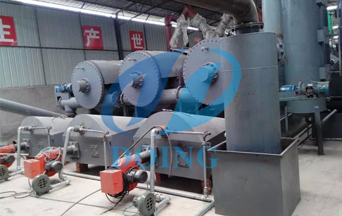 continuous tyre pyrolysis plant