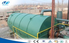 Waste tyres recycling plant cost