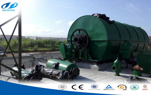 big  oil news:solid waste tyres pyrolysis plant
