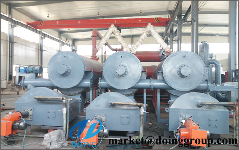 continuous fully automatic pyrolysis plant