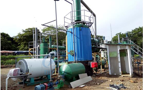 tire oil to diesel plant
